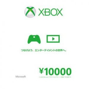 Xbox Live Value Card (10000 Yen)