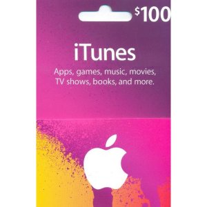 iTunes Card (US$ 100 / for US accounts o...
