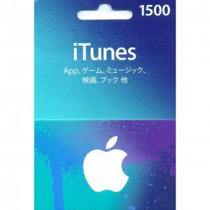 iTunes Card (1500 Yen / for Japan accoun...