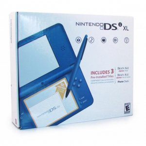Nintendo DSi XL (Midnight Blue)