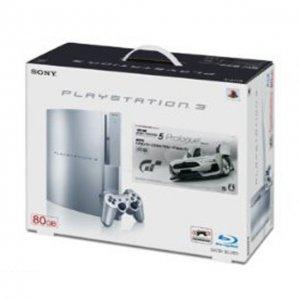 PlayStation3 Console (HDD 80GB Model Gra...