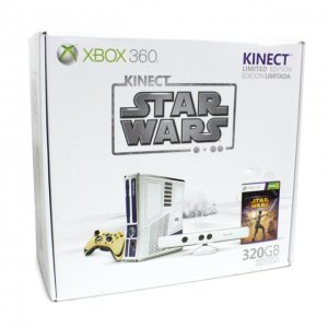 Xbox 360 S Limited Edition Kinect Star W...