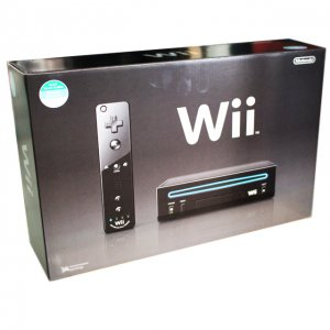 Nintendo Wii Black