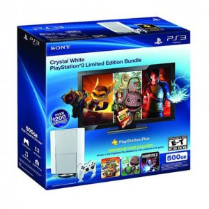 PlayStation3 Classic White 500GB Slim Co...
