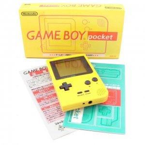 Game Boy Pocket Console - yellow preowne...