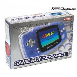 Game Boy Advance Console - Glacier/Milky...