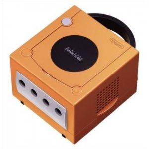 Game Cube Console - Spice Orange
