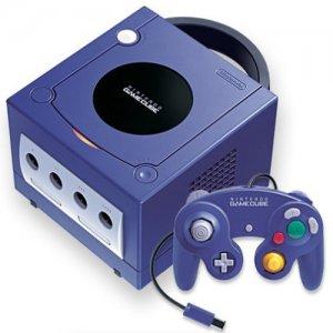 Game Cube Console - Purple/Indigo