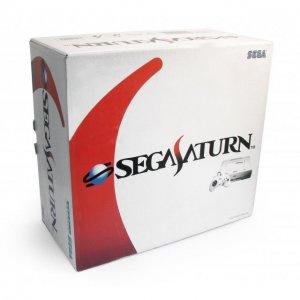 Sega Saturn Console - HST-0019 white