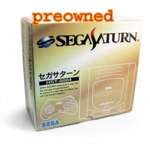 Sega Saturn Console - HST-0004 grey