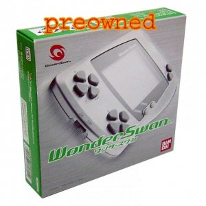 WonderSwan Console - Skeleton Green