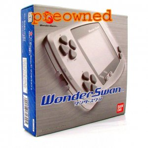 WonderSwan Console - Skeleton Blue