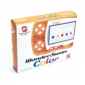 WonderSwan Color Console - Crystal Orang...