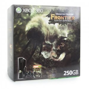 Xbox 360 Console (250GB) Monster Hunter ...