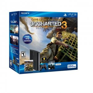 PlayStation3 Slim Console - Uncharted 3:...
