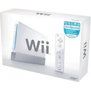 Nintendo Wii Console (White)