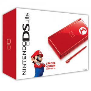 Nintendo DS Lite (Refurbished - Red Mari...