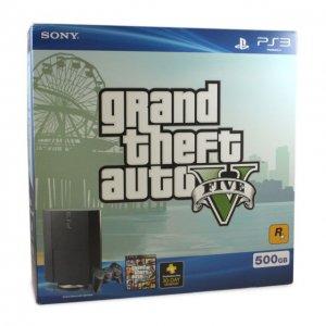 PlayStation 3 Grand Theft Auto V Bundle ...