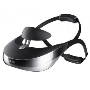 Sony HMZ-T3W Head Mounted 3D Viewer
