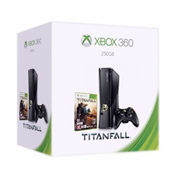 Xbox 360 Slim Console (250GB) [Titanfall Bundle Set]