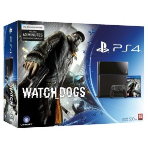 PlayStation 4 System - Watch Dogs Go No...