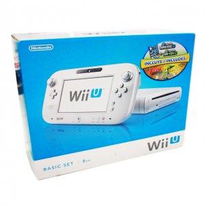 Nintendo Wii U 8GB Basic Set White  (Mar...