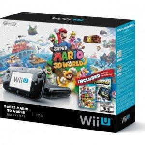 Nintendo Wii U Super Mario 3D World Delu...