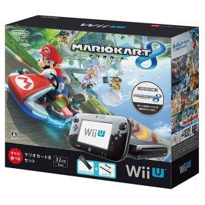 Wii U Mario Kart 8 Set (32GB Black)
