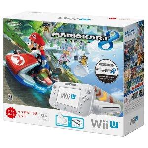 Wii U Mario Kart 8 Set (32GB White)