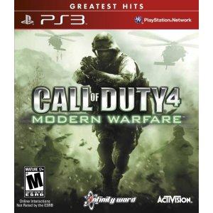 Call of Duty 4: Modern Warfare (Greatest...