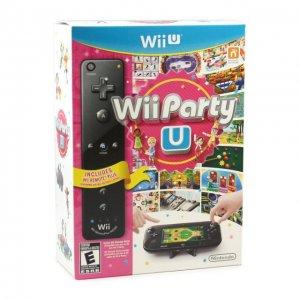 Wii Party U (w/ Black Remote Plus)
