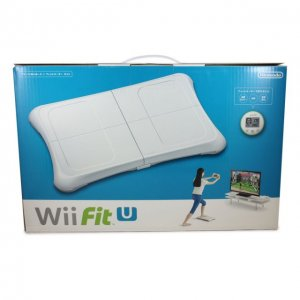 Wii Fit U Wii Balance Board + Fit Meter ...