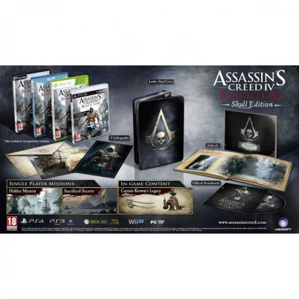 Assassin's Creed IV: Black Flag (Skull Edition) - Wii U