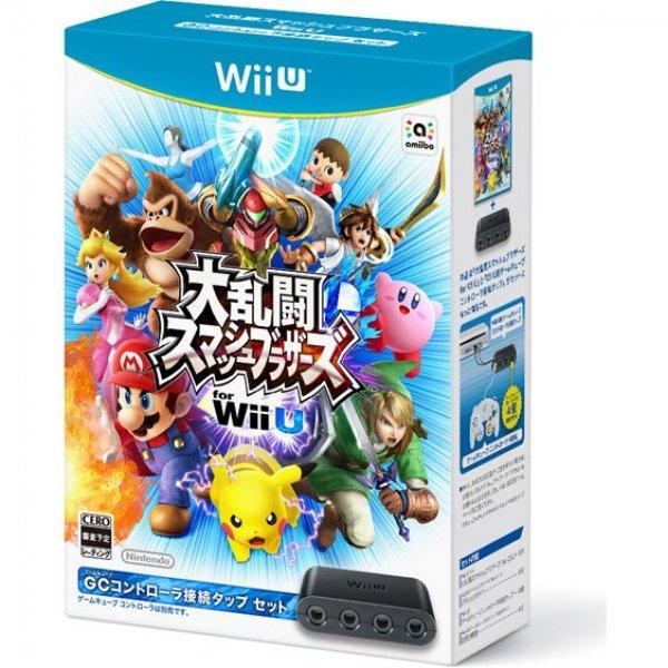 Dairantou Smash Brothers for Wii U [GC Controller Converter Set]
