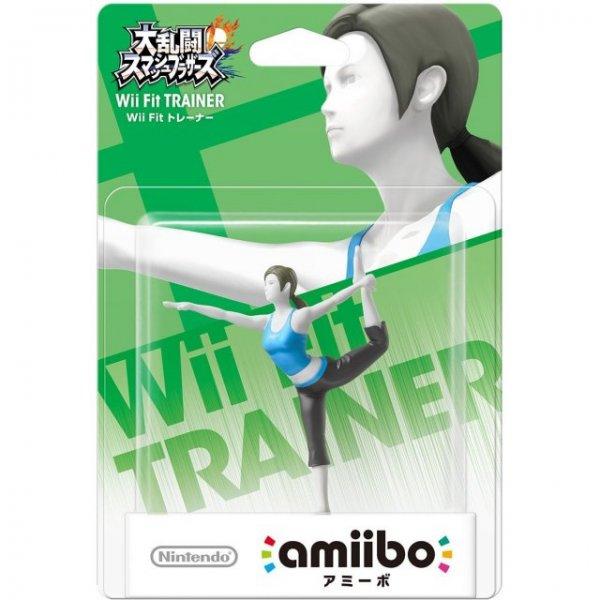 Amiibo Super Smash Bros. Series Figure (Wii Fit Trainer)