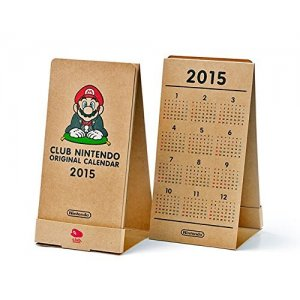 Club Nintendo Original Calendar 2015