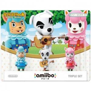 amiibo Animal Crossing Series Figure Tri...