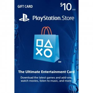 PlayStation Network Card (US$ 10 / for U...