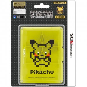Pokemon Card Case 24 for 3DS (Pikachu Do...