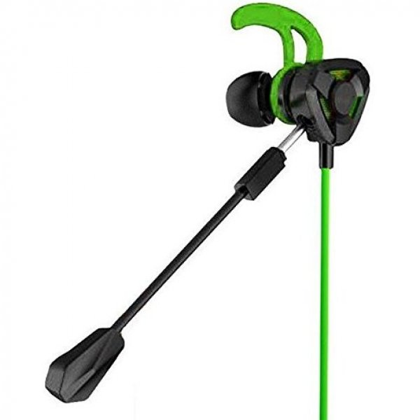 Gaming Earphone with Microphone for PS4 / PS VR / Smartphone (Green)