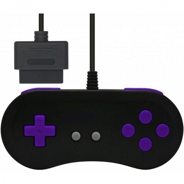 16Bit Controller for Super Famicom (Black x Purple)