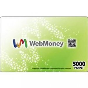 WebMoney - 5000 Point Card
