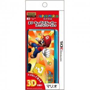 3D Character Sticker (Mario) for Nintend...