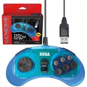 Retro-Bit SEGA Genesis 8-Button Arcade P...