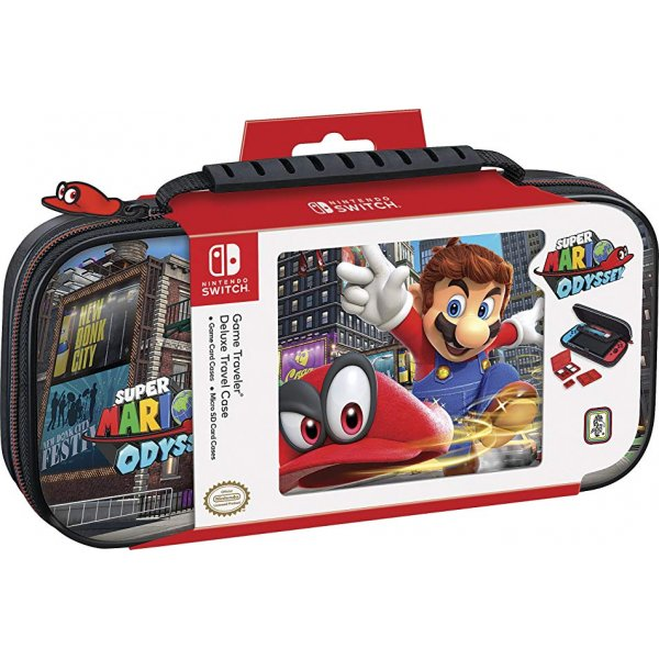 Nintendo Switch Deluxe Mario Odysse Travel Case