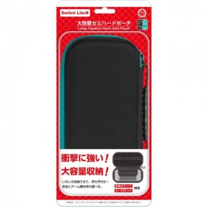 Large Capacity Semi-Hard Pouch for Ninte...