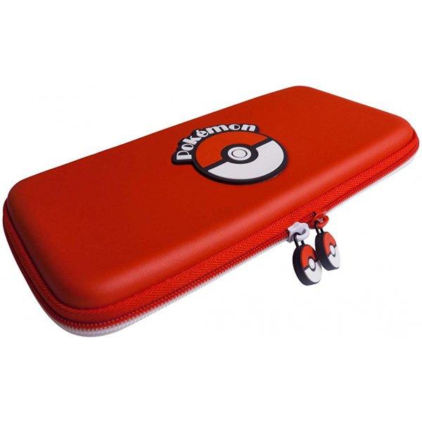 HORI Nintendo Switch Poke Ball Tough Pouch Officially Licensed By Nintendo & Pokemon - Nintendo Switch