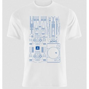 Sony Consoles T-shirt PlayStation 1 Moth...