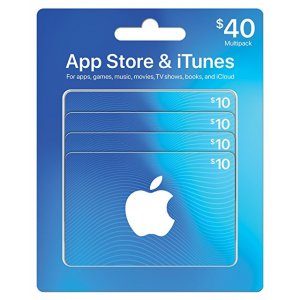 App Store & iTunes Gift Cards, Multi...