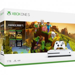 Xbox One S Minecraft Creators Bundle (1T...